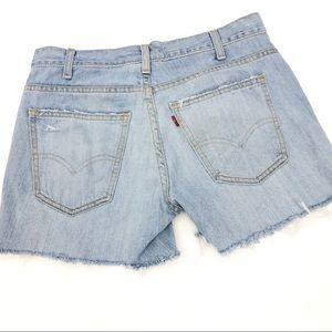Levi's Cutoff Distressed Shorts